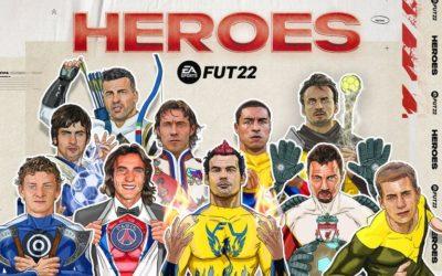 Les cartes héros FUT 22 sont sur FIFA !