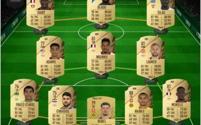 Une équipe de Bundesliga pas chère pour FIFA22