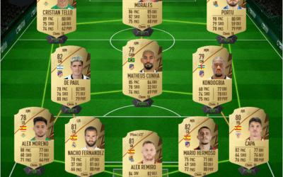 Une équipe de Liga pas chère sur FIFA 22