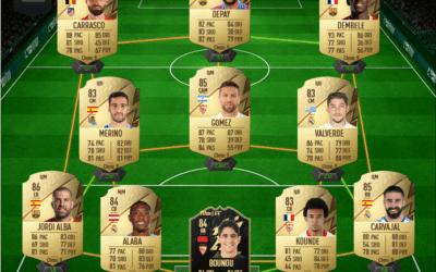 Une équipe de Liga FUT 22 pour gagner en Rivals