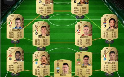 Une équipe de Serie A pas chère sur FIFA 22