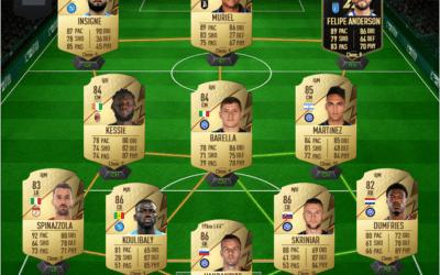 Une équipe de Serie A pour gagner vos matchs sur FUT 22