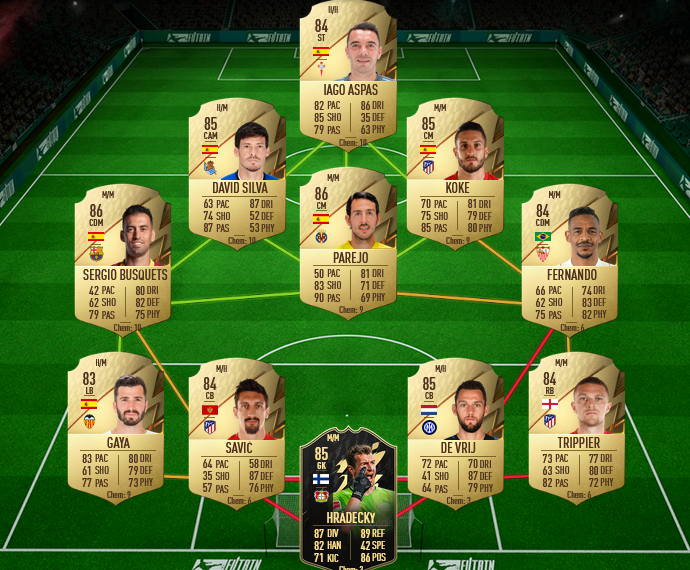 SBC POTM Liga Karim Benzema