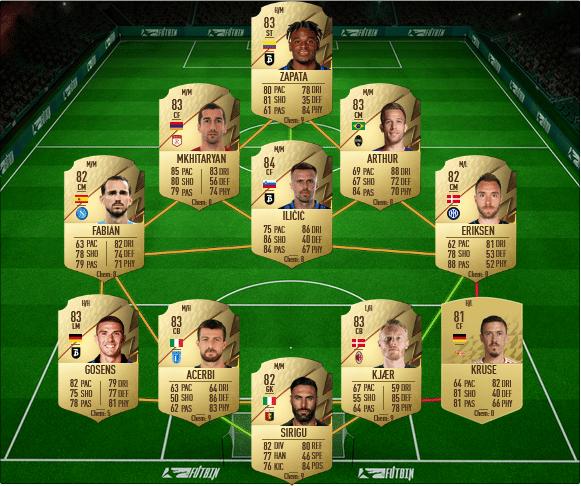 sbc andre silva OTW FIFA 22